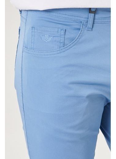 Beymen Business 4B0119200065 Vizon Slim Fit Pantolon  Mavi